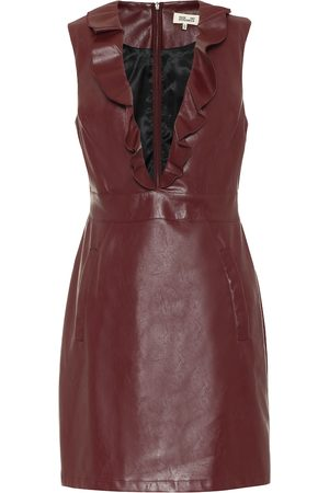 Baum und Pferdgarten Exclusive to Mytheresa – Abee faux-leather minidress