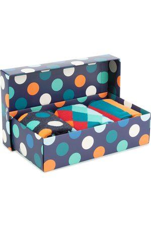 Happy Socks Zestaw 3 par wysokich skarpet unisex - XMIX08-6000