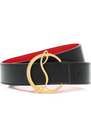Christian Louboutin CL Logo reversible leather belt