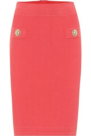 Balmain Knit midi pencil skirt