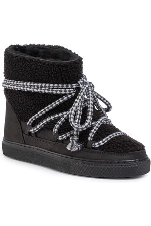 INUIKII Buty - Sneaker Curly 70202-16 Black-Blk Cot. Laces