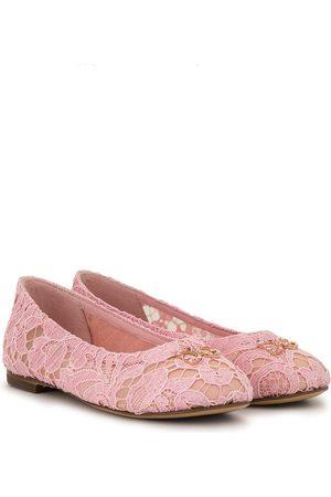 Dolce & Gabbana Dziewczynka Baleriny - PINK