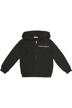 Dolce & Gabbana Logo cotton-jersey hoodie