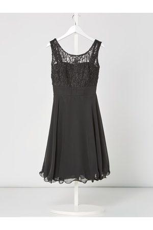 G.O.L. Sukienka z koronki i szyfonu