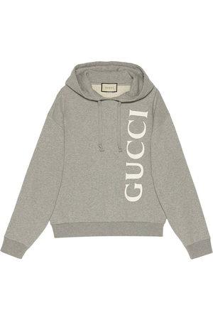 Gucci Mężczyzna Bluzy z kapturem - Grey
