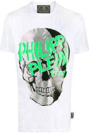 Philipp Plein Mężczyzna Z krótkim rękawem - White