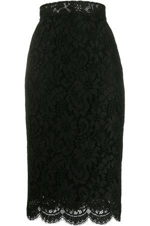 Dolce & Gabbana Kobieta Spódnice ołówkowe - Black