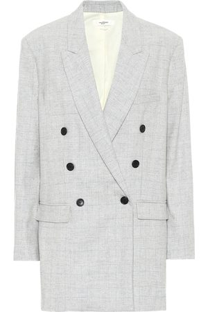 Isabel Marant, Étoile Eagan checked wool-blend blazer