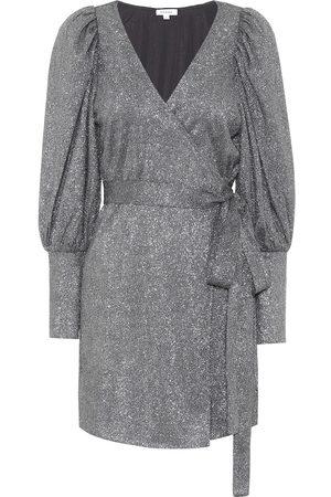 Rhode Frankie embellished wrap dress