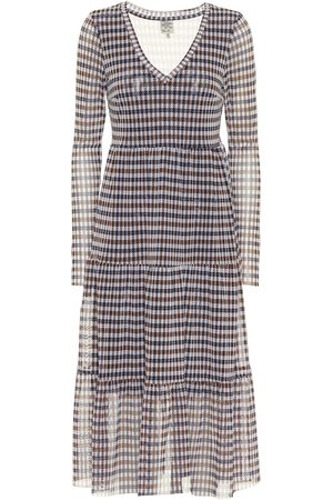 Baum und Pferdgarten Julianne checked midi dress