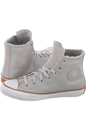 Converse Kobieta Tenisówki i Trampki - Trampki CT All Star Hi Pale Putty//White/Honey 166125C (CO403-b)