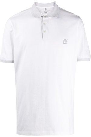 Brunello Cucinelli Mężczyzna Koszulki polo - White