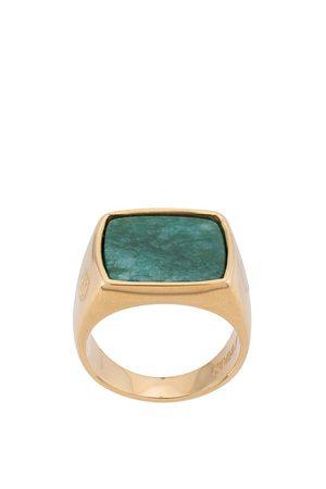 Nialaya Jewelry Mężczyzna Pierścionki - Gold