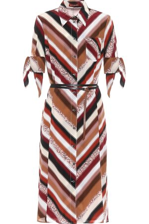 Altuzarra Narcissa striped silk midi dress