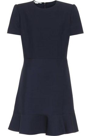 Stella McCartney Wool-blend minidress