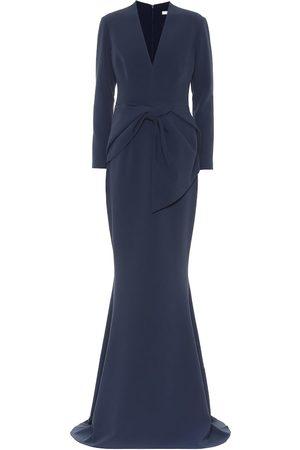 Safiyaa Stretch-crêpe gown