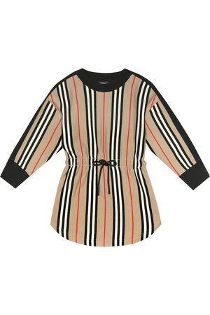 Burberry Aurora Icon Stripe cotton dress