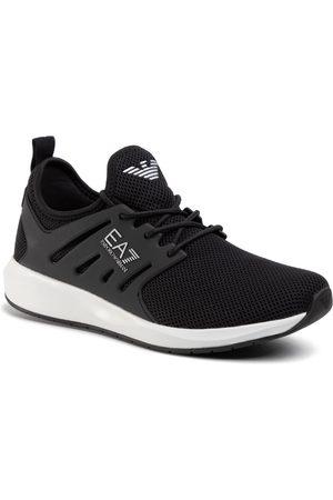 EA7 Sneakersy - X8X052 XCC57 00002 Black