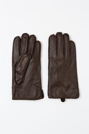 Recman Mężczyzna Rękawiczki - Rękawiczki presa brąz