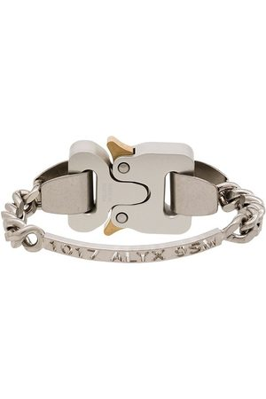 1017 ALYX 9SM Mężczyzna Bransoletki - Tone logo-engraved bracelet