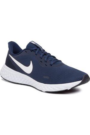 Nike Buty - Revolution 5 BQ3204 400 Midnight Navy/White