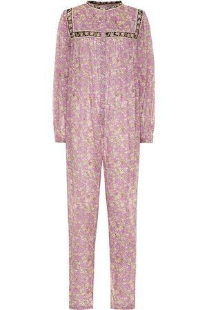 Isabel Marant, Étoile Vasco floral cotton jumpsuit