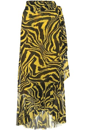 Ganni Exclusive to Mytheresa – Animal-print wrap skirt