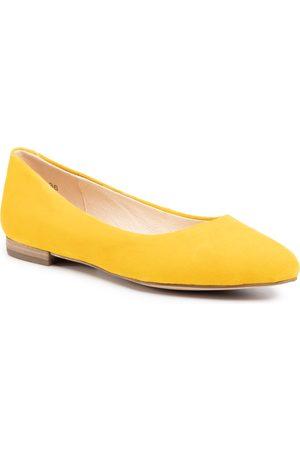 Caprice Baleriny - 9-22104-24 Yellow Suede 641