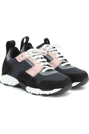 Marni Kobieta Sneakersy - Suede and mesh sneakers