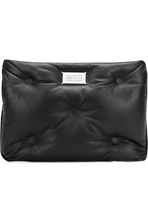 Maison Margiela Glam Slam leather clutch