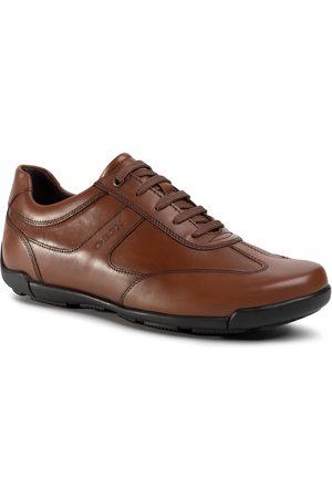 Geox Mężczyzna Buty casual - Półbuty - U Edgware A U023BA 043BC C6001 Cognac