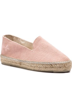 MANEBI Espadryle - Slippers W W 2.4 N0 Rose Canvas