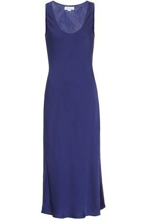Velvet Satin slip dress