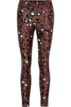 The Upside Leopard-print midi leggings
