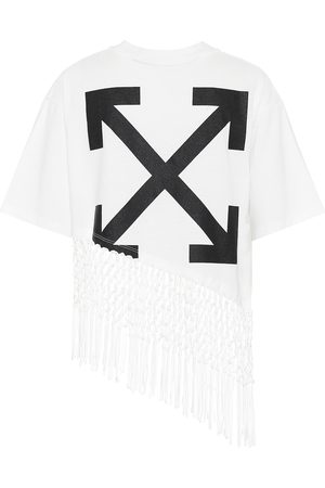 OFF-WHITE Printed cotton-jersey T-shirt