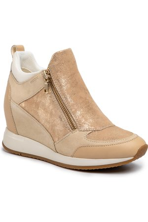 Geox Sneakersy - D Nydame E D020QE 07722 C5004 Sand