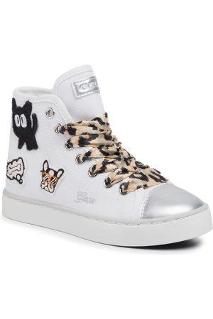Geox Sneakersy - J Ciak G J0204D 00010 C0405 S White/Beige