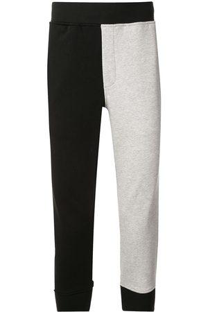 Blackbarrett Mężczyzna Spodnie dresowe - Colour-block track pants