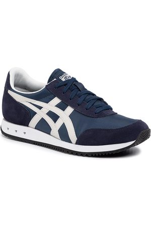 Onitsuka Tiger Kobieta Sneakersy - Sneakersy - New York 1183A205 Independence Blue/Oatmeal 401