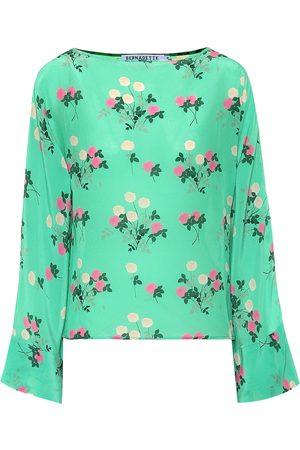Bernadette Gemma floral silk top