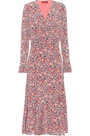 Altuzarra Martha floral silk midi dress