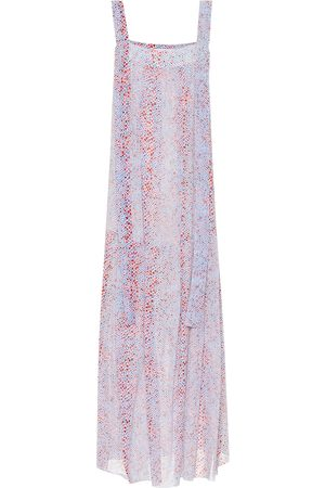 See by Chloé Printed cotton and silk maxi dress