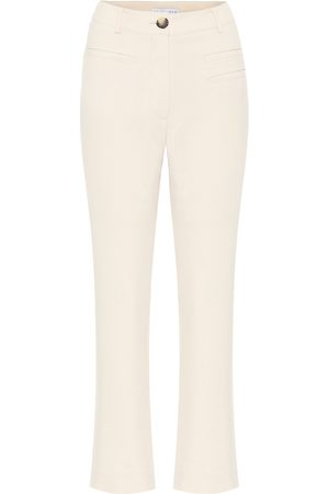 REJINA PYO Finley high-rise canvas pants