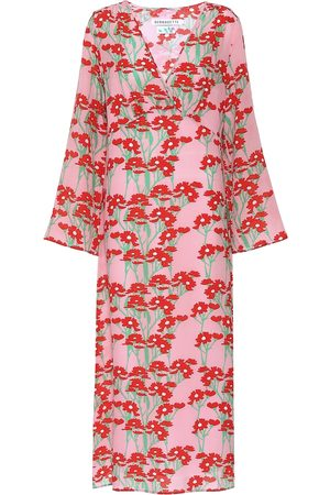 Bernadette Sarah floral silk maxi dress