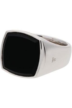 TOM WOOD Mężczyzna Pierścionki - Cushion onyx sterling signet ring