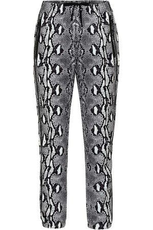 Adam Selman Sport Snake-print leggings