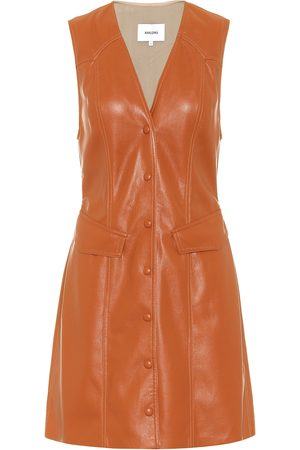 Nanushka Menphi faux-leather dress