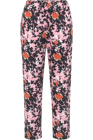 Marni High-rise floral pants
