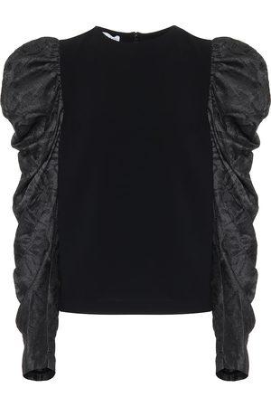 REJINA PYO Silk-blend top