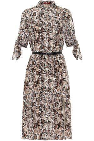 Altuzarra Narcissa printed silk midi dress